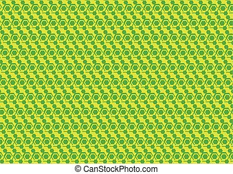 Pattern background in two colors