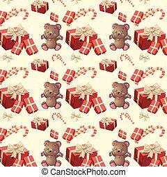 pattern new year
