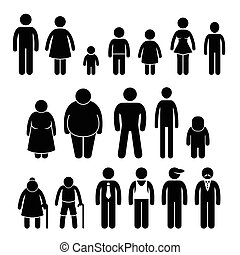 People Character Stick Figure