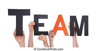 People Holding Team