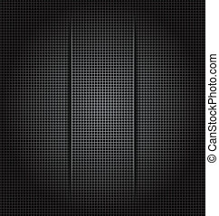 Illustration perforation background texture, paper cut - vector