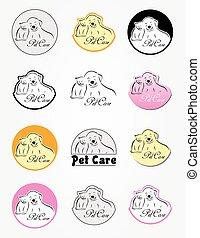 Pet care logos