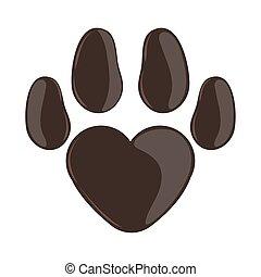 pet footprint animal