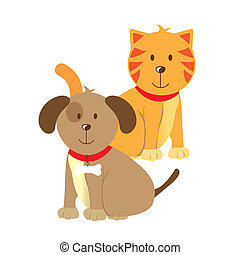 pets design over white background vector illustration