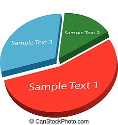 Image of a sample pie chart.