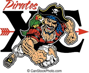 pirates cross country