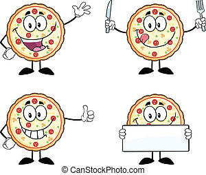 Pizza Character 1 Collection Set