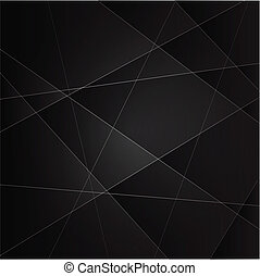 Abstract vector background with dark gray metal layers