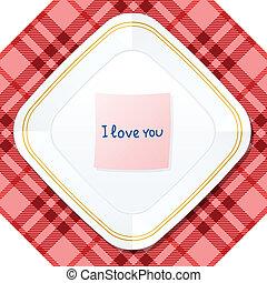 plate love