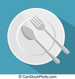 plate spoon and fork design