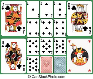Playing Cards Club Suit