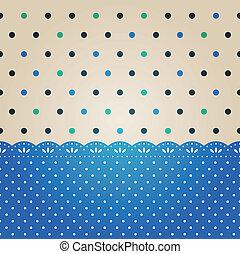Polka dot background textured