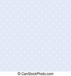 Polka dots blue vector background