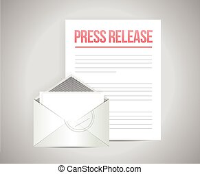 press release mail message
