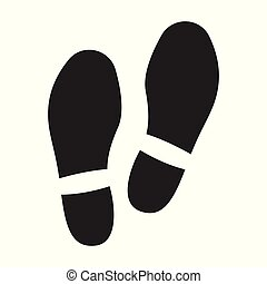 Print of shoe vector icon. Black vector logo isolated on white background print of shoe .