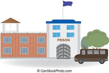 Prison. Vector for you design