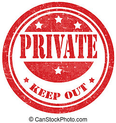 Private-stamp