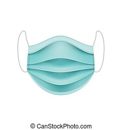 Protective Face Mask. Coronavirus Concept.