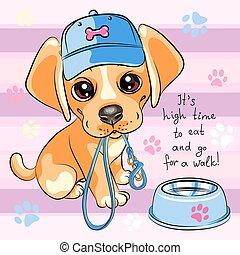 Puppy dog Labrador Retriever