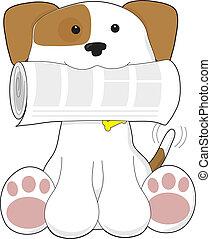 Puppy Love Newspaper
