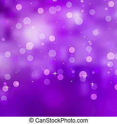 Purple bokeh background. EPS 8 vector file included