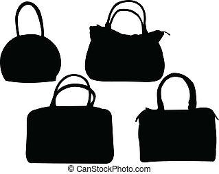 purses collection - vector