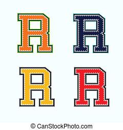 R college letter