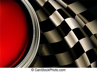 Racing Background, vector