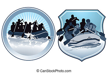rafting characters