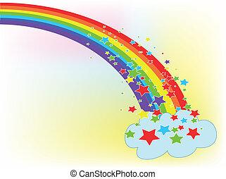 Rainbow, used mash