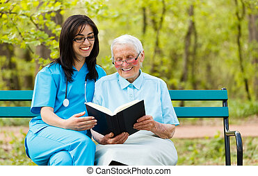 Reading with Patient