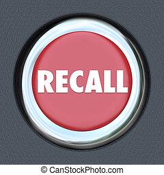 Recall Car Ignition Button Vehicle Repair Fix Defective Lemon