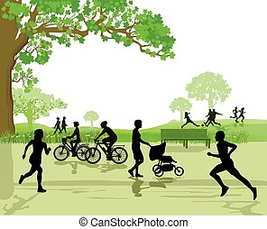 Recreation and Sports in the Park