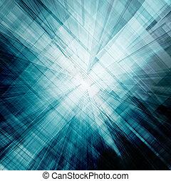 Reflection ideas. Conceptual abstract technology