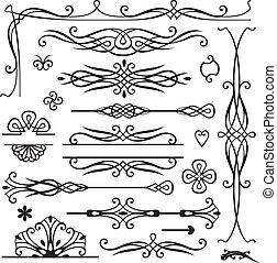 retro page decoration