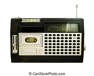 Retro Radio (Tape Recorder)