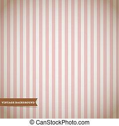 Retro Stripe Pattern Vector Background