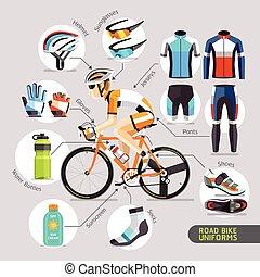 Road Bike Uniforms.