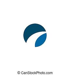 Road icon logo design vector template