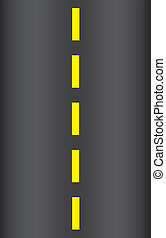 illustration of the seamless texture of the asphalt road