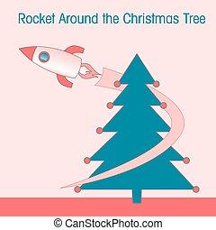 Rocket around the Christmas Tree.