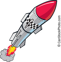 Rocket warhead projectile missile