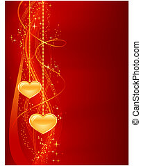 Vertical abstract background for your romantic designs. Great for Valentines day, etc. Use of blends, clipping mask, gradients, global color swatches.