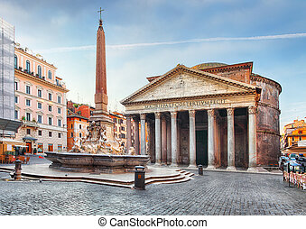 Rome - Pantheon, nobody