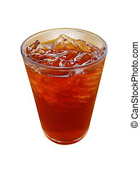 Roselle or hibiscus juice with fresh roselle, a drink for good health. on white background
