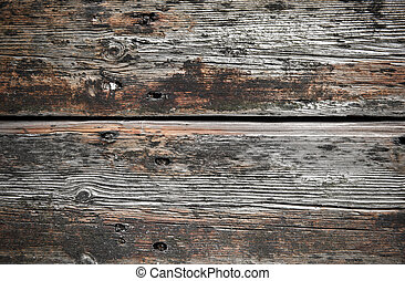 Rough wooden planks, ideal for backgrounds and textures