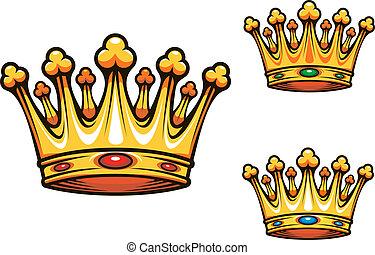 Royal king crown