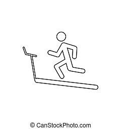 running track illustration