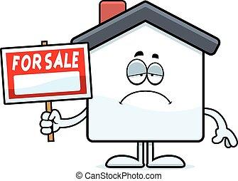 Sad Cartoon Home Sale