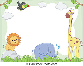 Safari Animal Frame